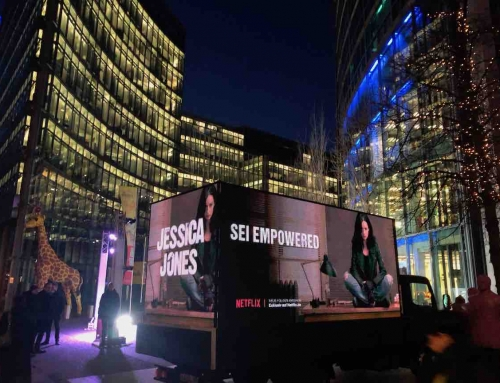 DOOH auf Trucks: Mobile, digitale Hingucker